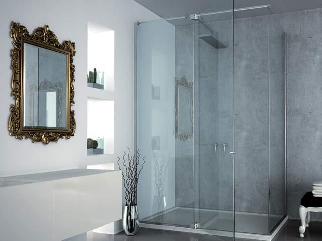Porte in vetro porte scorrevoli in vetro magenta - Porte in vetro per bagno ...