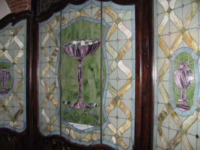 Vetrerie tiffany vetri lavorati vetri decorati vetri artistici e vetri dipinti milano - Vetri decorati per porte scorrevoli ...